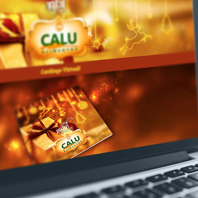 Hot Site Calu Alimentos